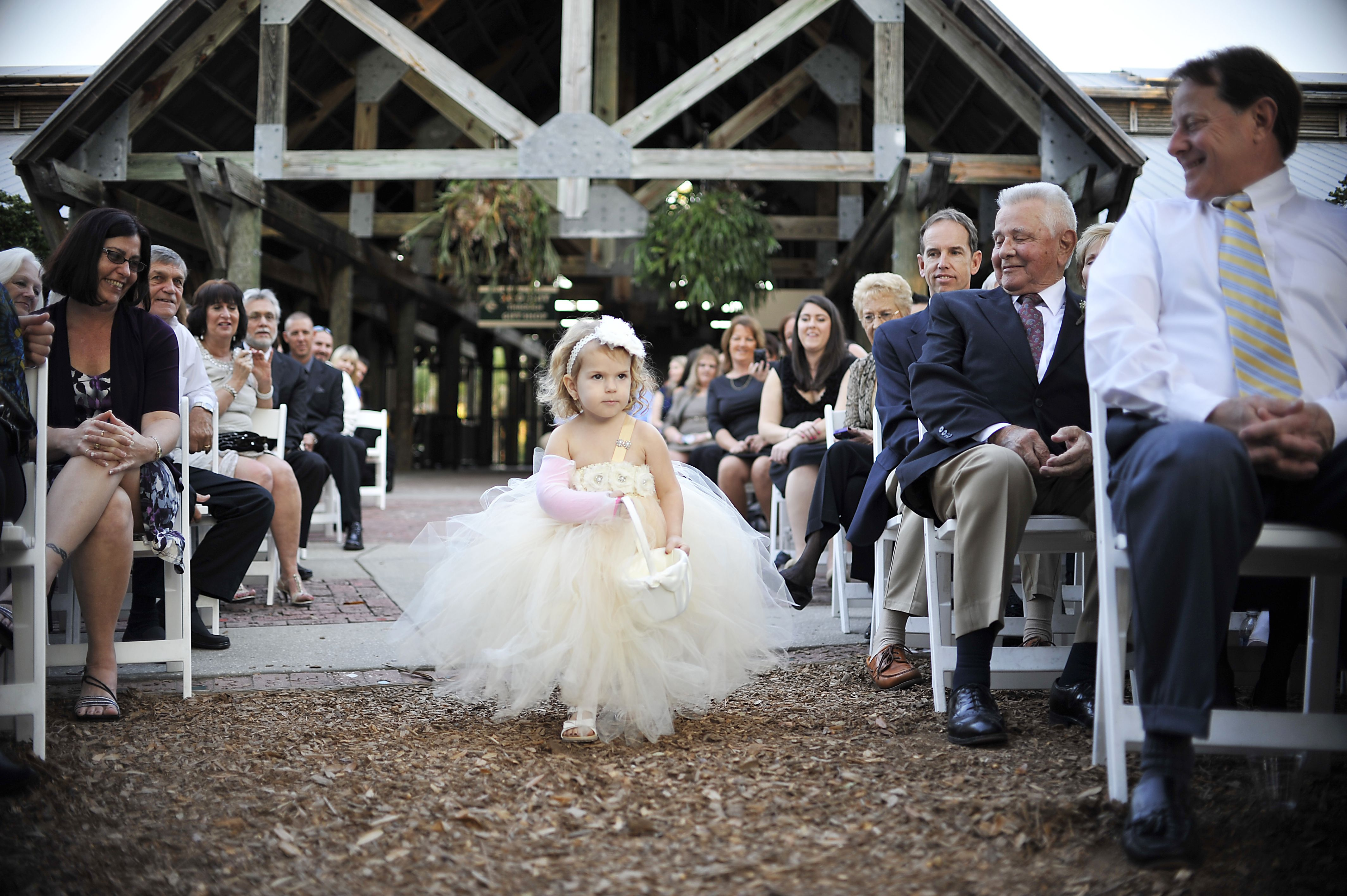 such a cute flowergirl Dress by Etsy Venue Brevard Zoo