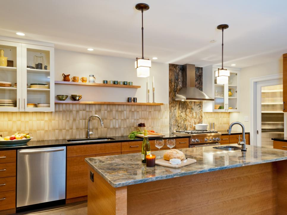 15+ Design Ideas for Kitchens Without Upper