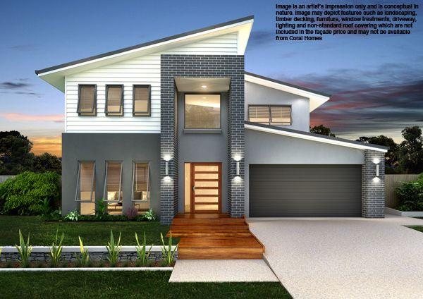 Ds Facade Facade House Storey Homes House Design