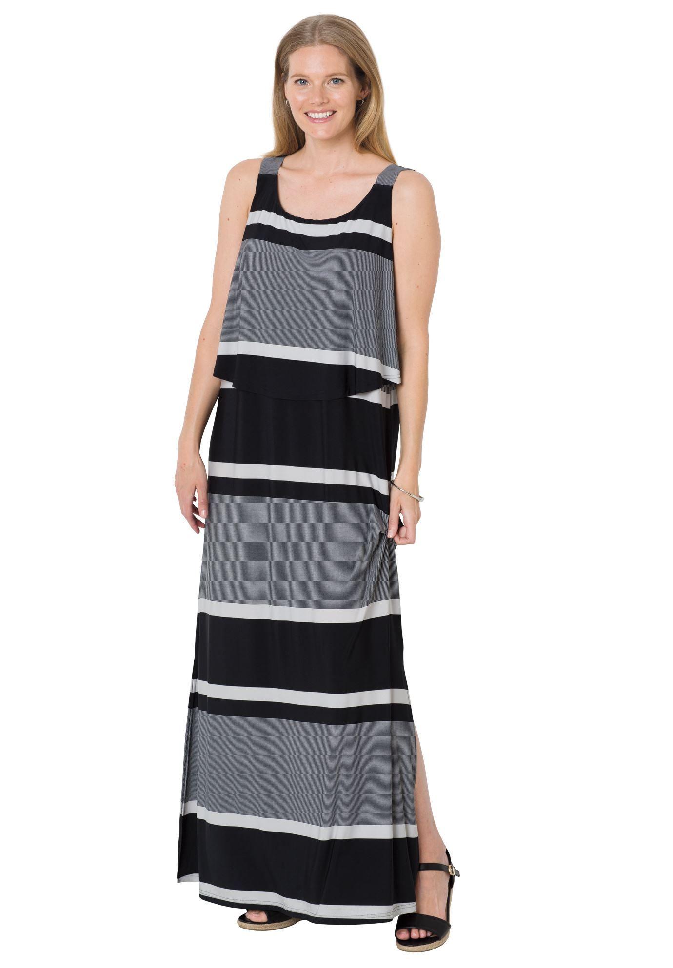 Maxi Popover Dress Clothes For Women Plus Size Maxi Dresses Clothes [ 1986 x 1380 Pixel ]