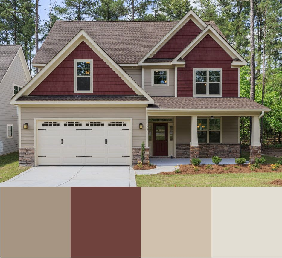 Brooks floor plan in Sanderling and Carriage Door. & Brooks floor plan in Sanderling and Carriage Door.   Decor Ideas ...