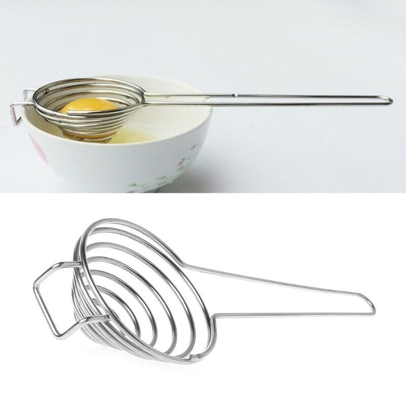 Stainless Steel Eggs Yolk White Separator Filter Home Kitchen Cooking Tools