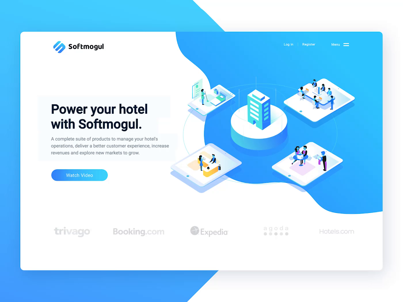 Web Preview Softmogul By Aldo Hysenaj Hotel Operations Customer