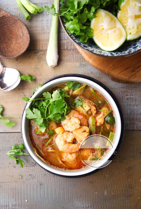 Tom Yum Goong Resep Makanan Resep Masakan Masakan