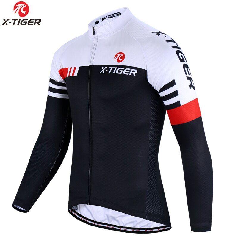 Tienda Online X Tiger Camiseta De Ciclismo De Calidad Superior De Manga Larga Mtb Bicicleta Ropa De Ropa De Ciclismo Camiseta De Ciclismo Camisetas De Ciclismo