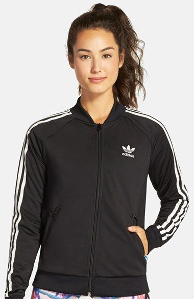 046a32607d367 adidas Originals adidas Originals  Superstar  3-Stripes Track Jacket  available at  Nordstrom