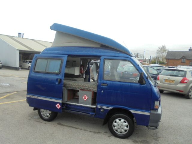 Daihatsu Hijet Motorhome For Sale In Chester Carr Griffiths