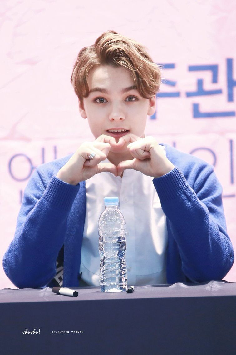 He deserves to be on top of the list haha. Ever since I discovered Vernon, my life has never been the same... #vernon #hansol