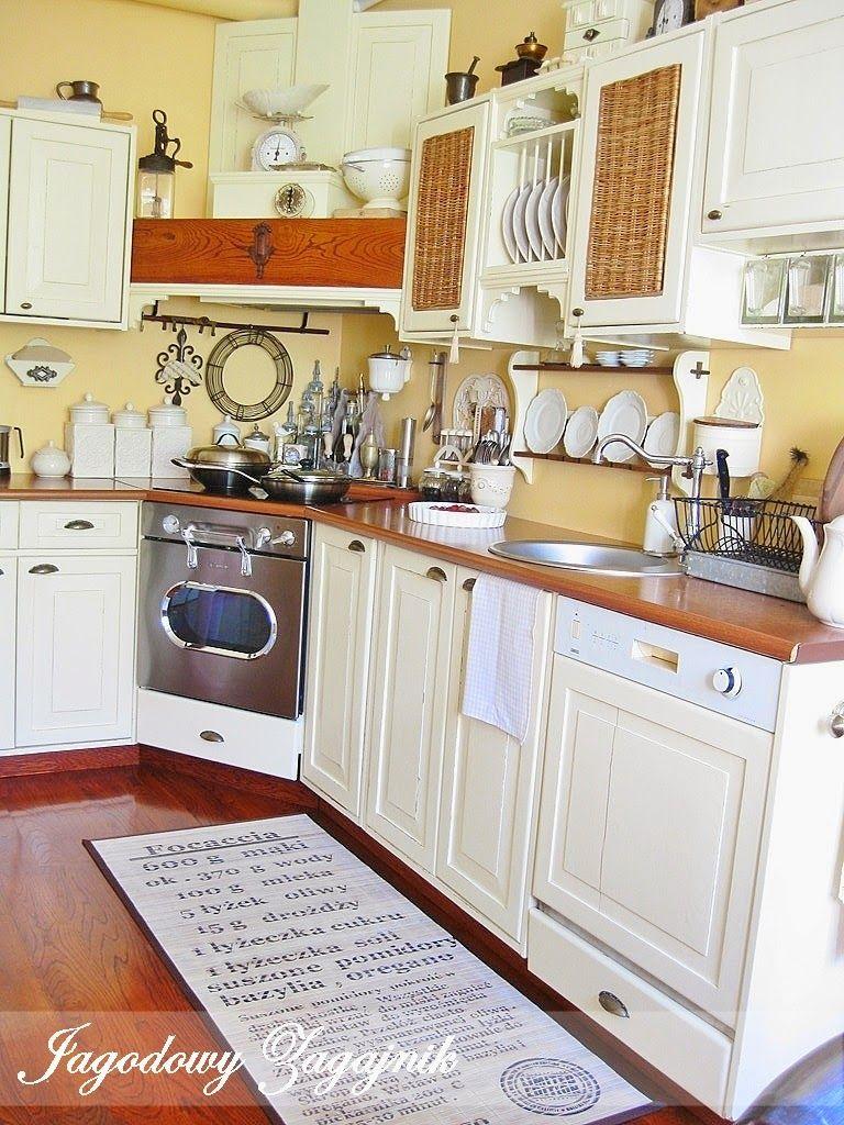 Jagodowy Zagajnik Kuchnia Home Decor Home Kitchen Cabinets