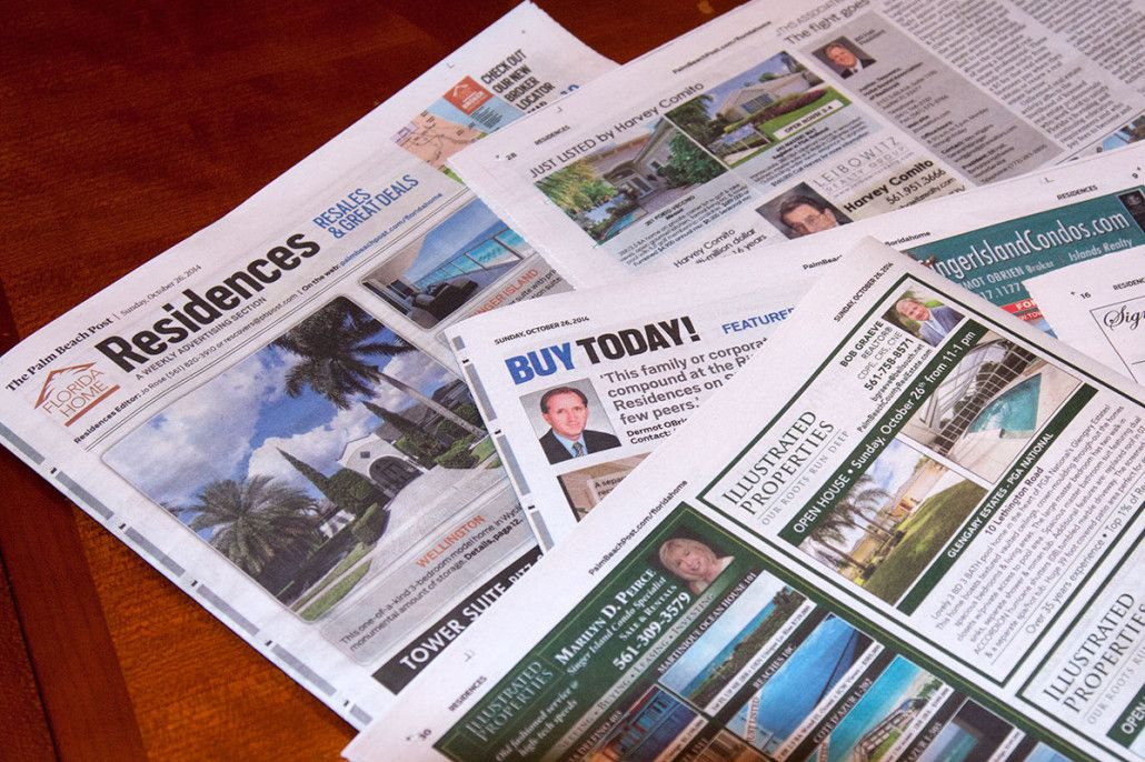 real estate newspaper ads templates samples Newspaper