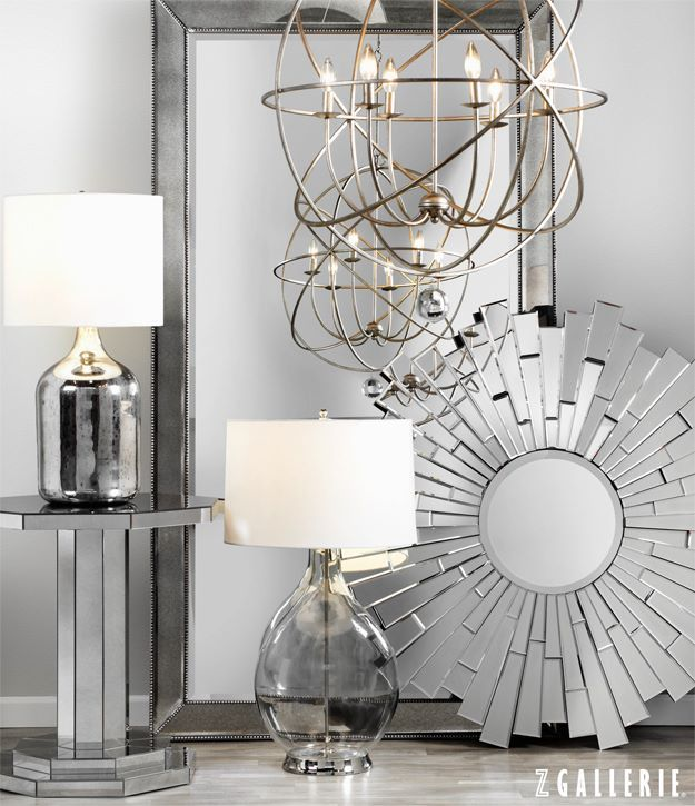 Z Gallerie Light Fixtures: Dazzle And Delight With Illuminating Mirrors And Lighting