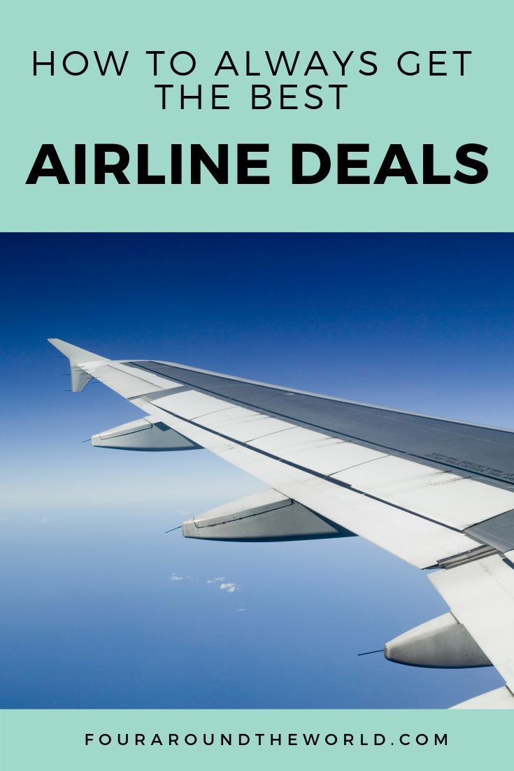 Learn how to get the best airline deals and cheapest flights every time you travel with our best flight hacks #travelhacking #traveltips