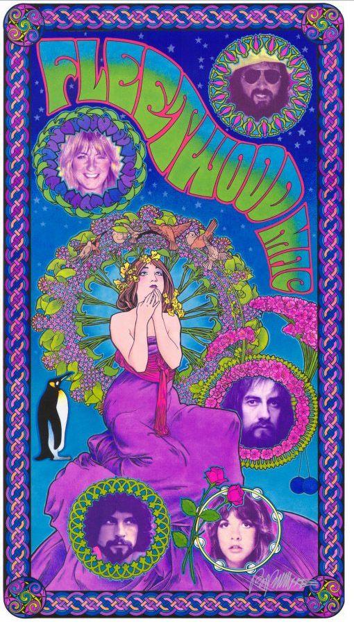 Fleetwood Mac Music Youtubemusicsucks Com Fleetwoodmac Stevienicks Vintage Music Posters Music Poster Hippie Posters