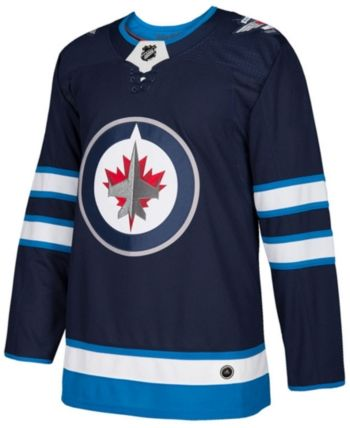 detailed look 758ec db8e7 adidas Men s Winnipeg Jets Authentic Pro Jersey - Blue 56