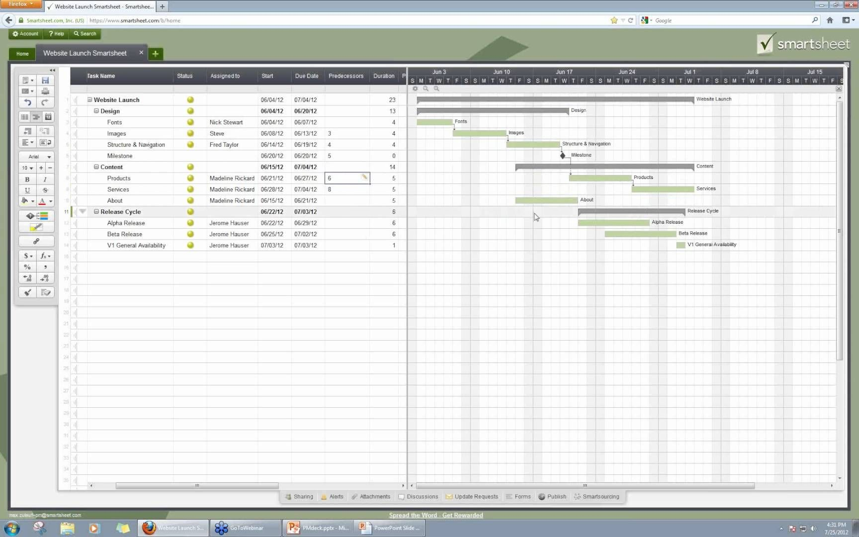 Smartsheet project management project management and pmbok smartsheet project management nvjuhfo Gallery