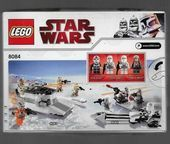 8084 Lego Box Unopened Crushed Star Wars Smowtrooper Battle Pack 7 Contafflink