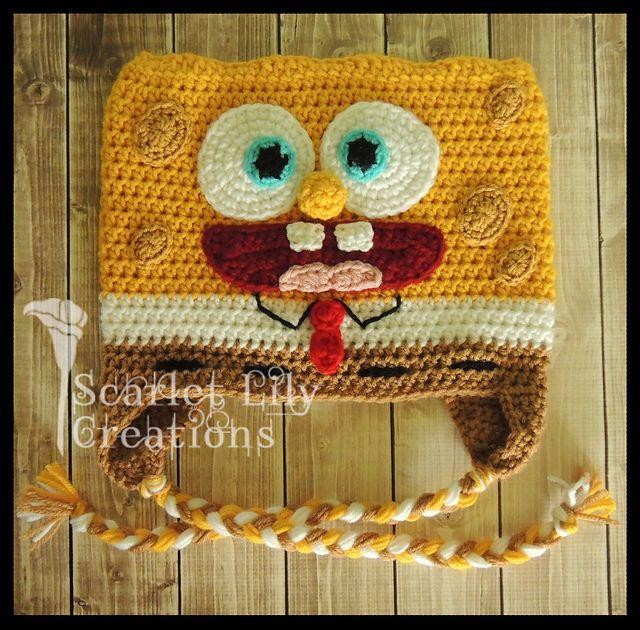 FREE!! Ravelry: Spongebob Hat pattern by Jamie Huisman | HATS ...