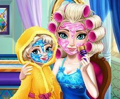 Mamica Elsa Machiaj Real Jocuri Zz Pinterest