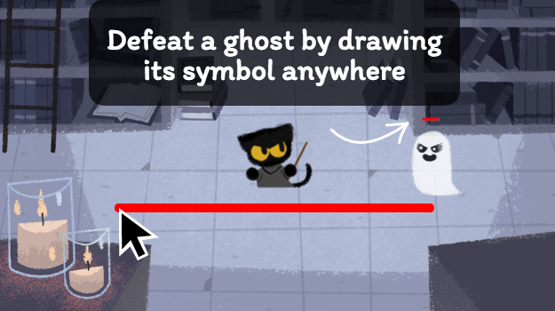The Halloween Google Doodle is the cutest game you'll play