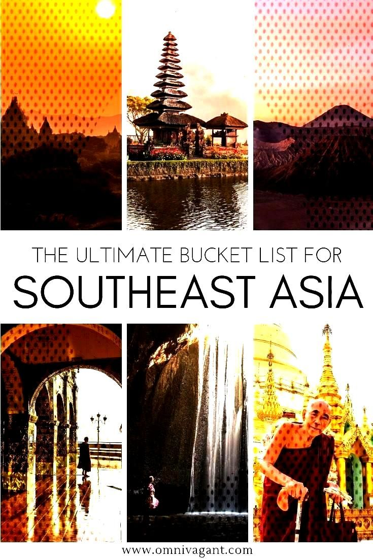 Traveling to Southeast Asia? Be sure to check out the ultimate Southeast Asia Bucket List! Everythi