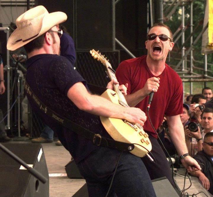 Edge, Bono.