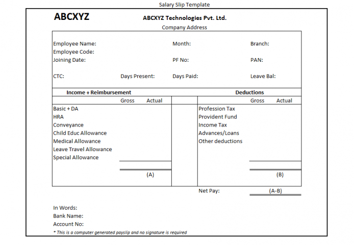 Everything You Need To Know About Your Salary Slip What Is A Salary Slip A Salary Slip Is A Document Issued By Finance Blog Salary Tax Saving Investment