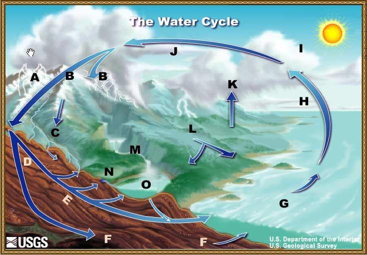 Diagram of water cycle usgs diagram pinterest diagram diagram of water cycle usgs ccuart Image collections