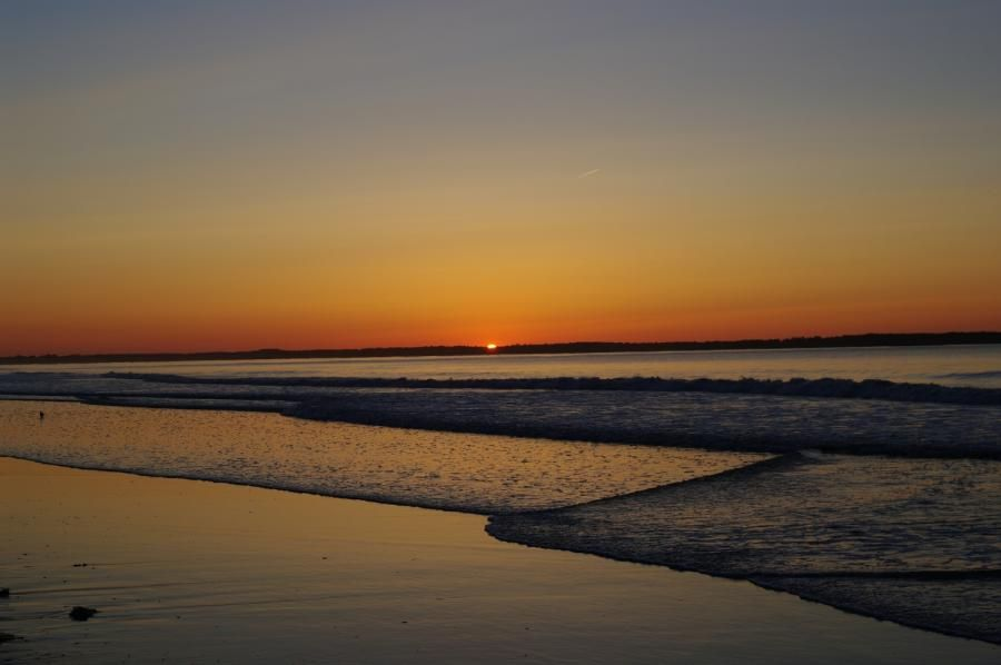 Sunrise Old Orchard Beach Maine Old Orchard Beach Old Orchard Beach Maine Sunrise