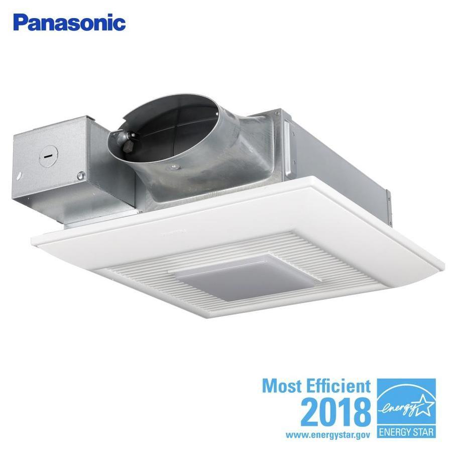 Panasonic Whispervalue 0 3 Sone 110 Cfm White Bathroom Fan Energy