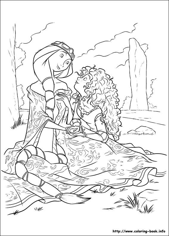Brave coloring picture | !My coloring pages | Pinterest | Coloring ...