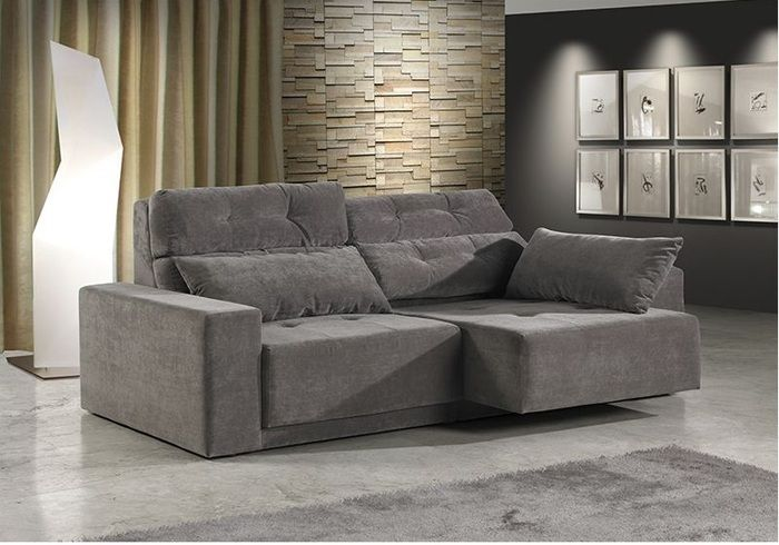4051 Mh Sofa With Pull Out Chaise With Images Furniture Modern Sofa Sofa