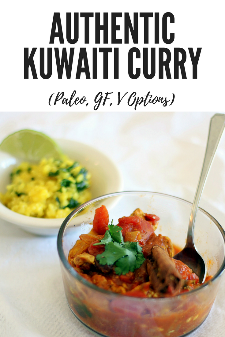 authentic kuwaiti curry- delicious homemade arab curry. doesn't have