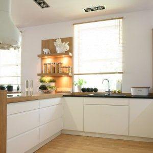 Znalezione Obrazy Dla Zapytania Kuchnia Z Polwyspem Scandinavian Kitchen Design Kitchen Design Kitchen
