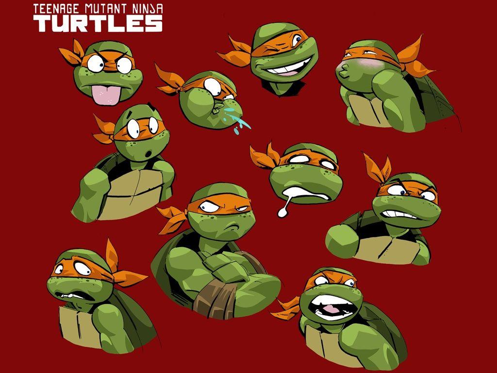Expressions for Michelangelo   TMNT   Teenage mutant ninja