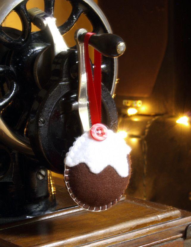 Christmas Pudding Decoration £4.50