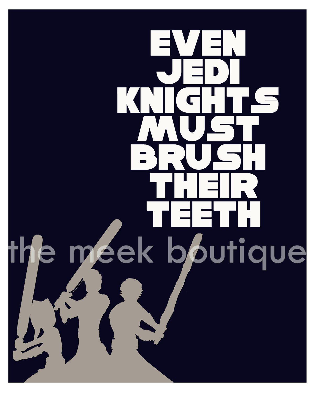 Star Wars Bathroom Art