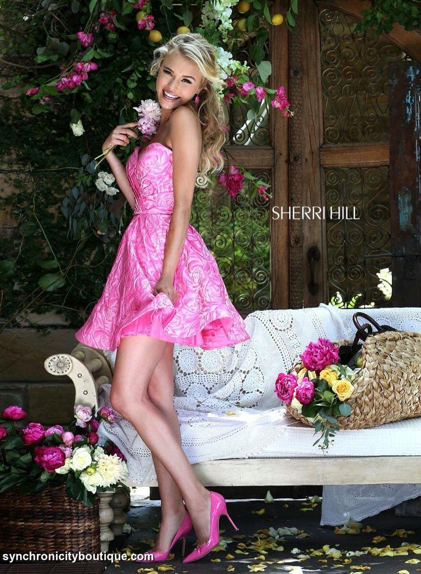 Sherri Hill 2k16 is in the store!!! #prom #sherrihill ...