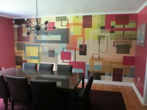 Cubusy - Mocha Mural - Kate Ward Thacker| Murals Your Way