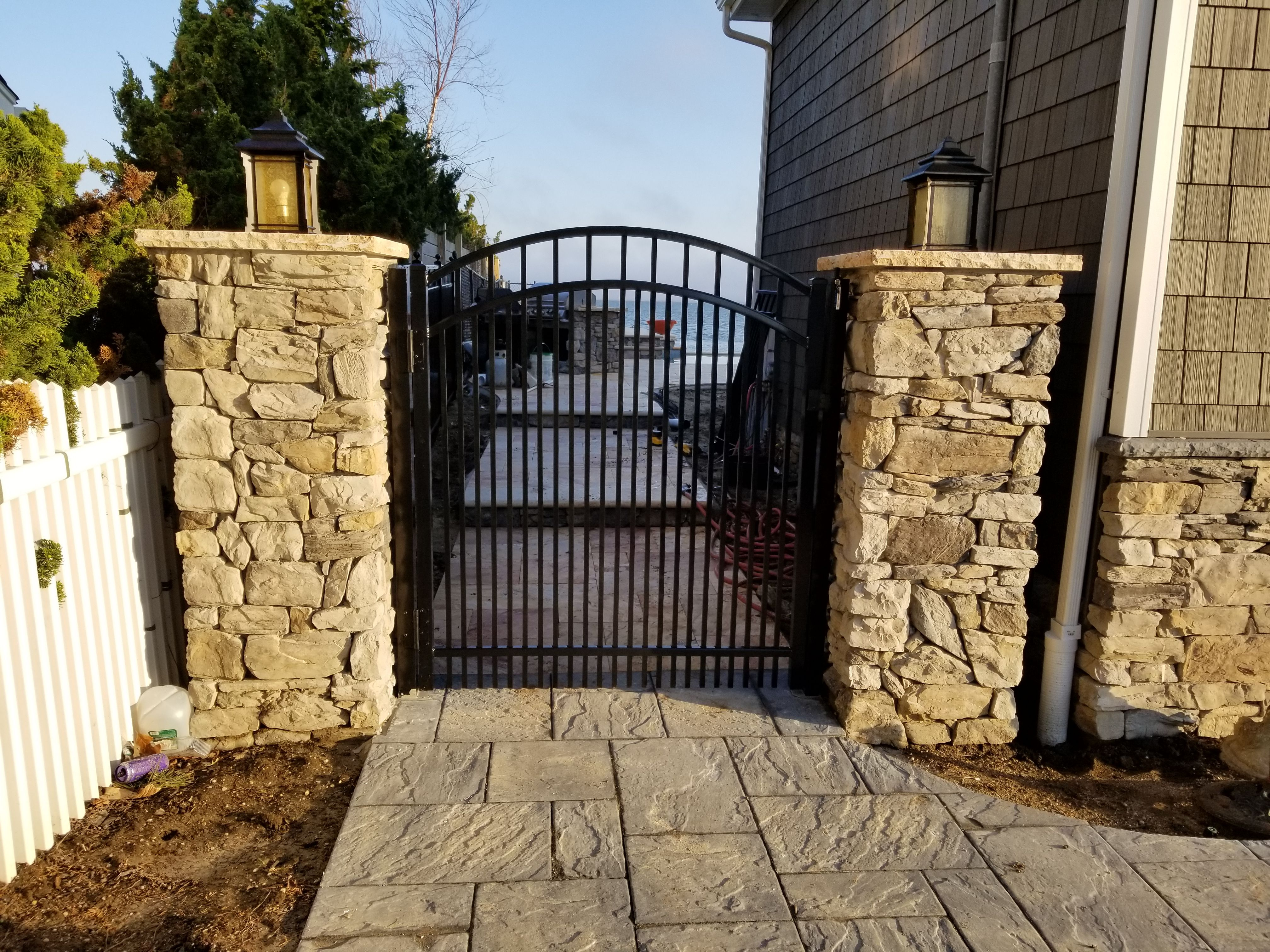 Best Custom Commercial Grade Aluminum Gate Installed In 400 x 300
