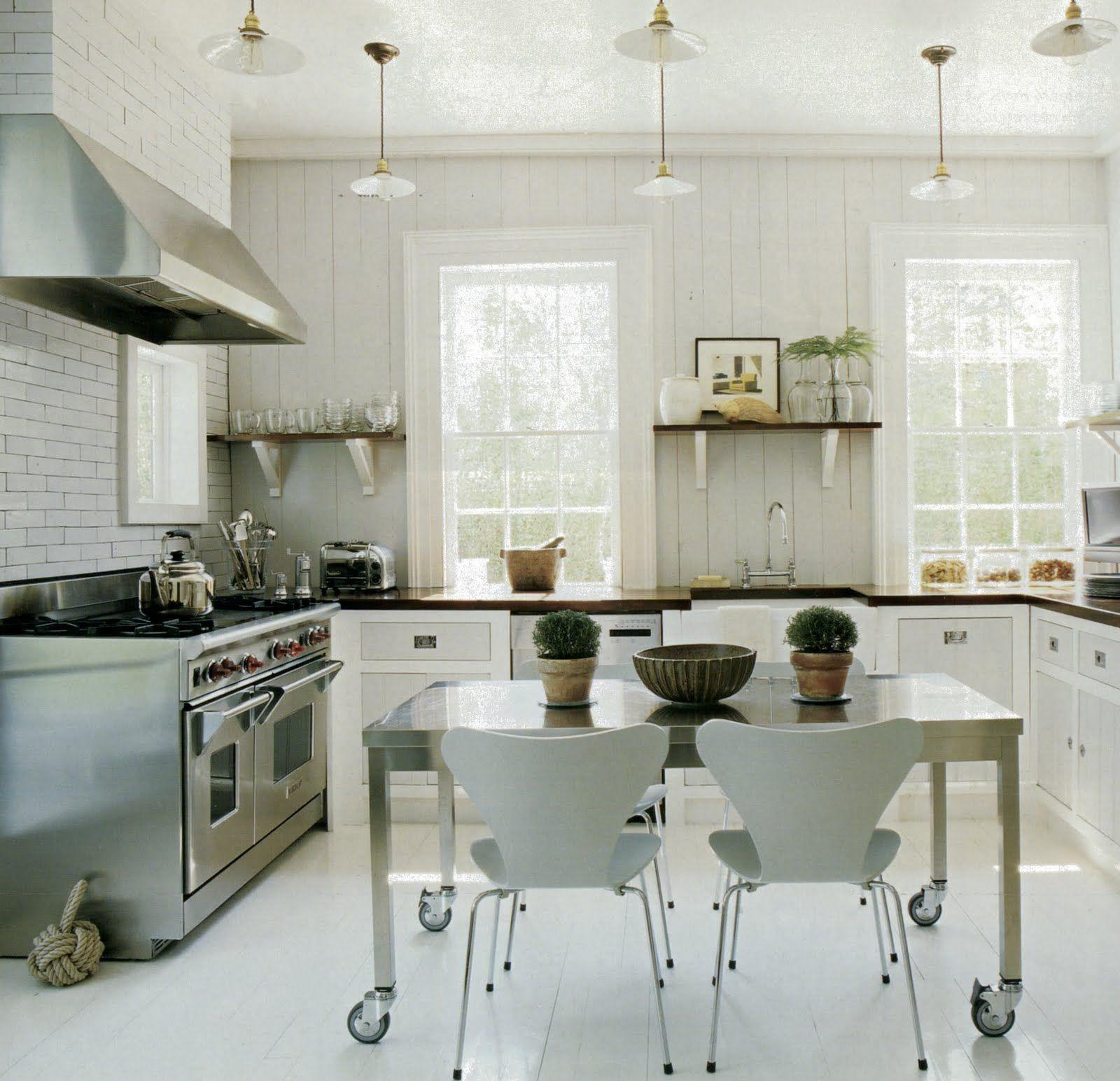 Martha Stewart Living - contemporary + sleek finishes + black and ...