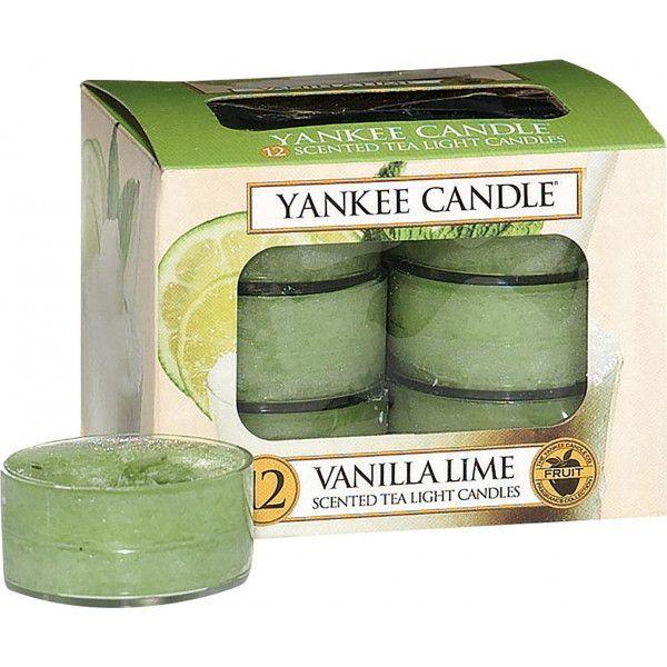 Ambiance & Styles | Boîte de 12 lumignons senteur Vanille Citron ...