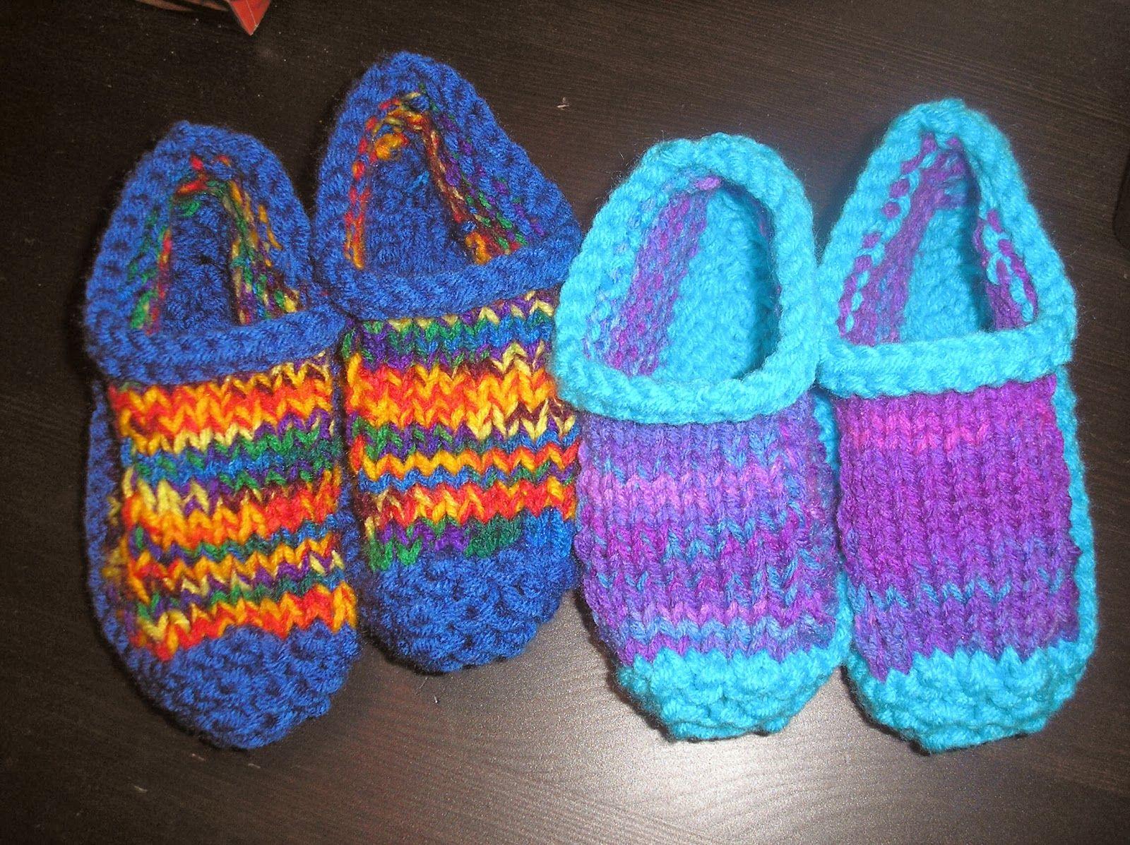 profession  m u00e8re au foyer  tricot  pantoufles pour enfants 3  u00e0 5 ans