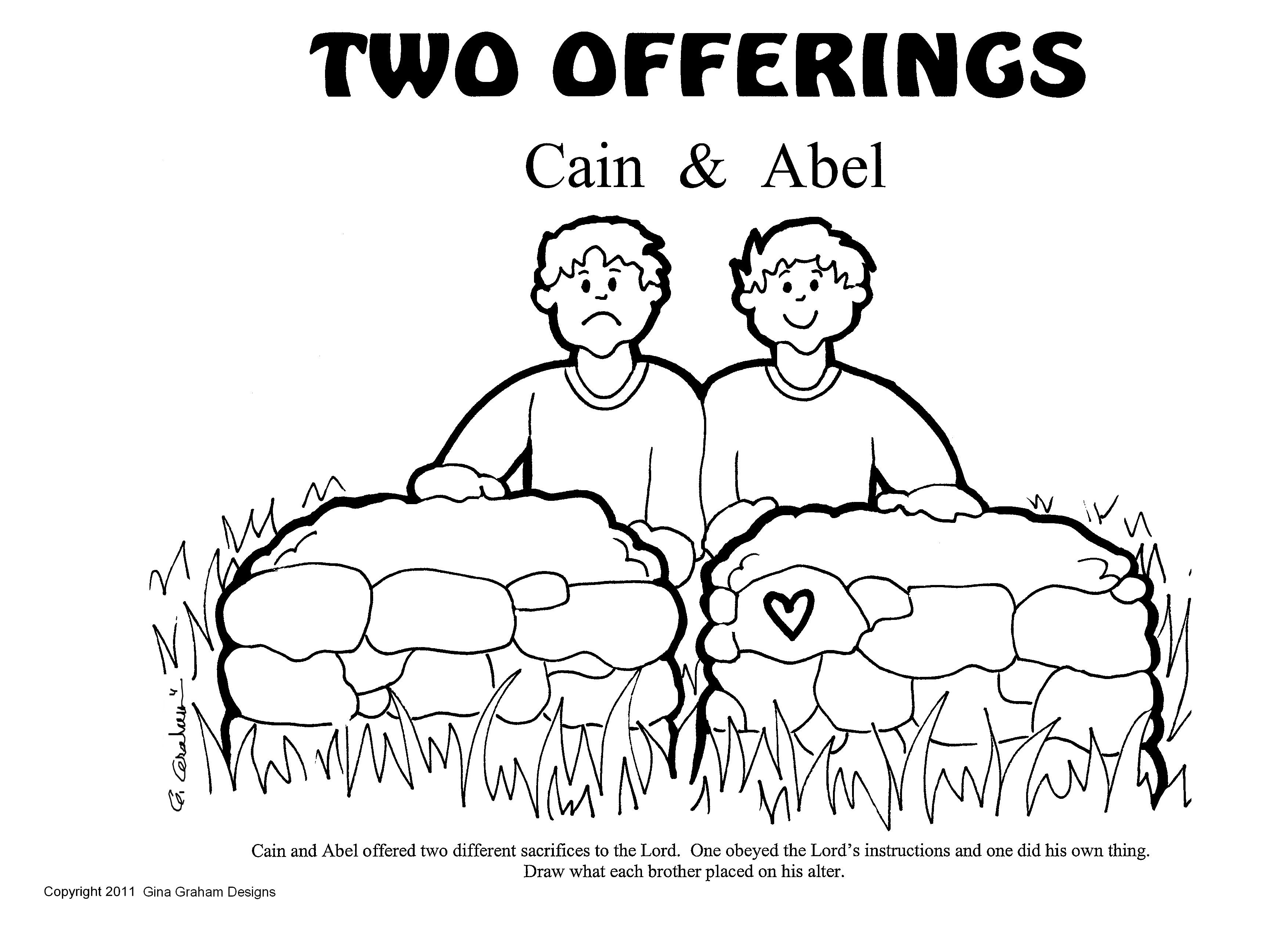 OTestBook 013.jpg (3507×2550) | Old Testament - Cain and Abel ...