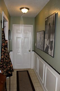 Dining Room Wainscoting And Sw Clary Sage Sage Green Living Room Living Room Green Home