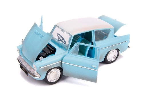 1959 Ford Anglia Harry Potter Figure Hollywood Rides 1 24 Scale Diecast Car Model By Jada 31127 Ford Anglia Diecast Ford
