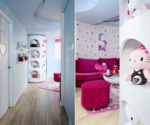 A Hello Kitty Theme Home Decoration