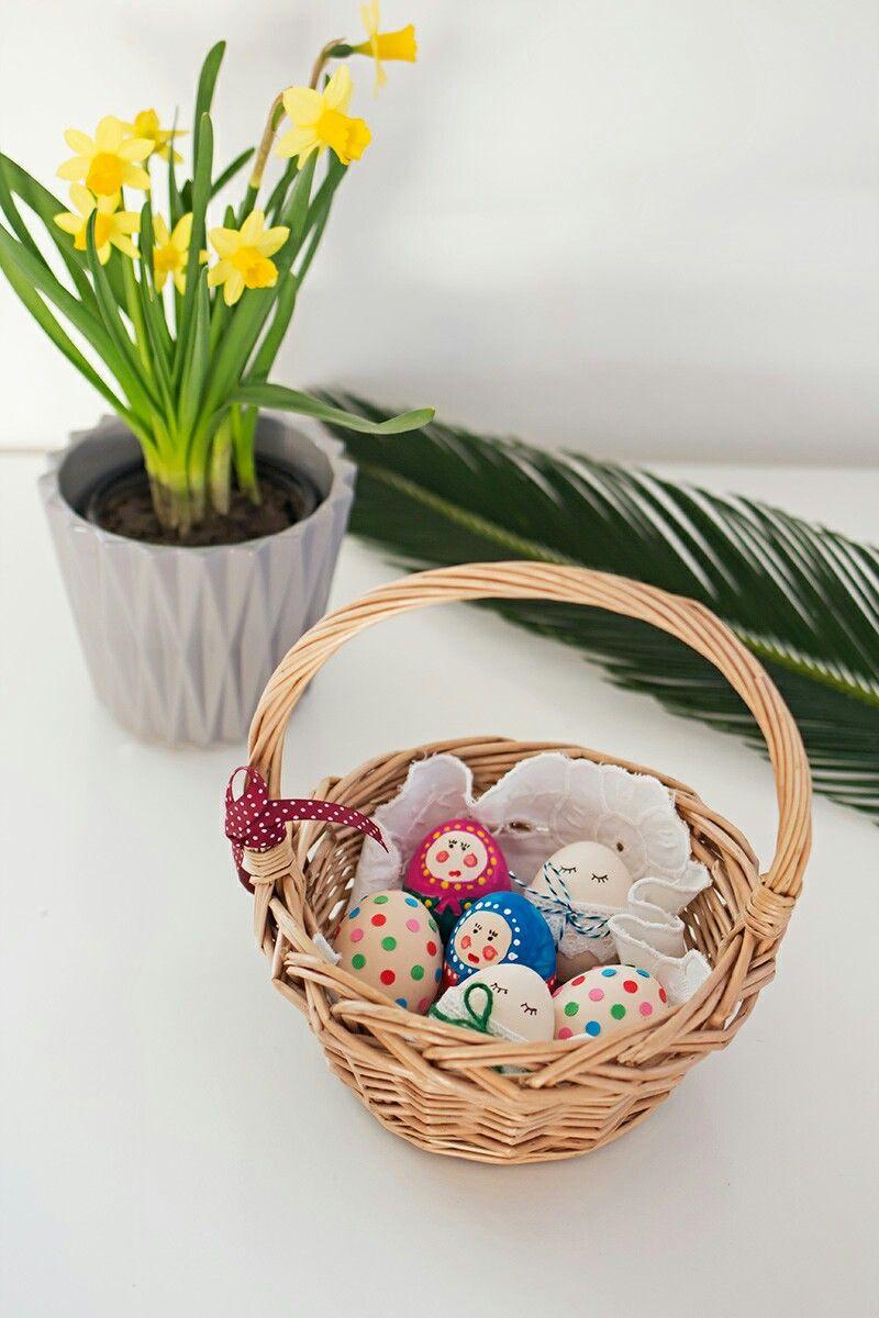 Wielkanoc, malowanie jajek, Easter, wielkanocne DIY
