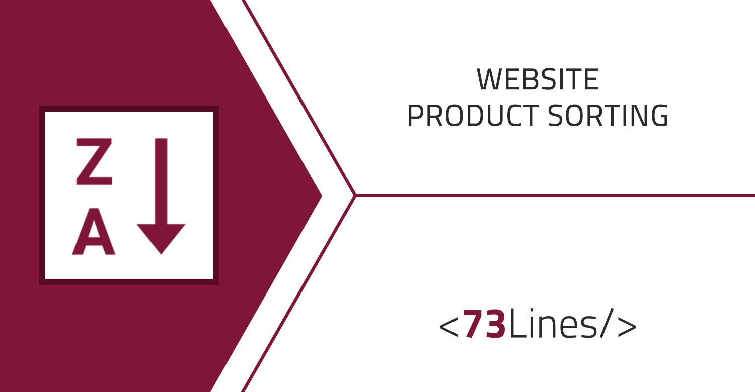 Website Product Sorting odoo apps by 73Lines   Odoo Apps