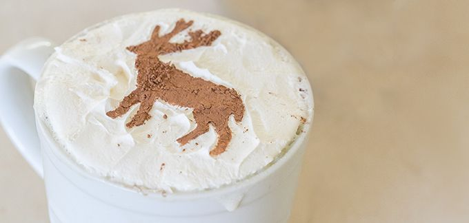 Making Fancy Designs In The Foam On A Latte Takes Barista Or Does It Learn How To Make Lattes Easy Way
