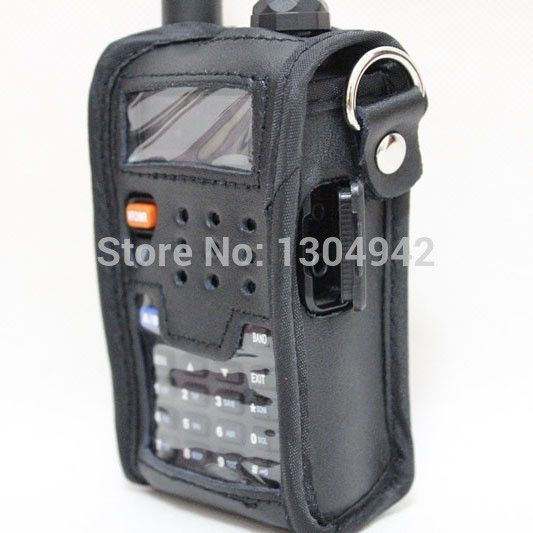 2016 New Leather Pouch Soft Case for Walkie Talkie BAOFENG UV-5R UV-5RA UV-5RB UV-5RC UV-5RD UV-5RE UV-5RG baofeng uv-5r telsiz
